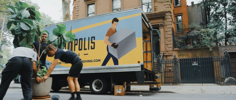 Movers with Moving Truck